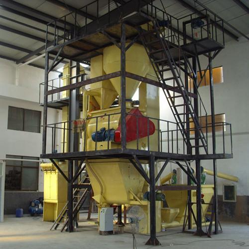 自动称重干粉砂浆生产机组