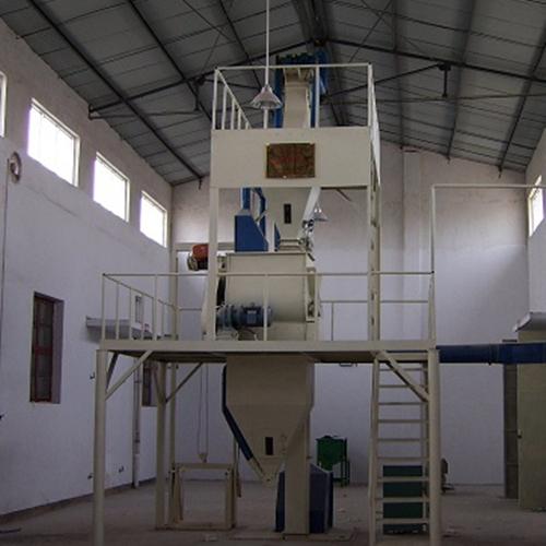 半自动干粉砂浆生产机组